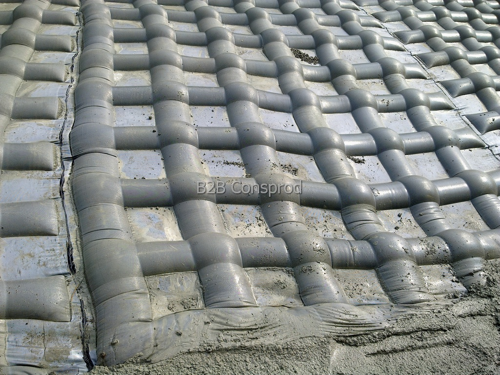 Mats with Concrete