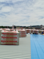 Circulable or non-circulable terrace roofs, civil and industrial